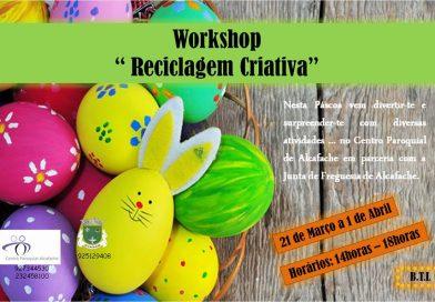 Workshop Reciclagem Criativa